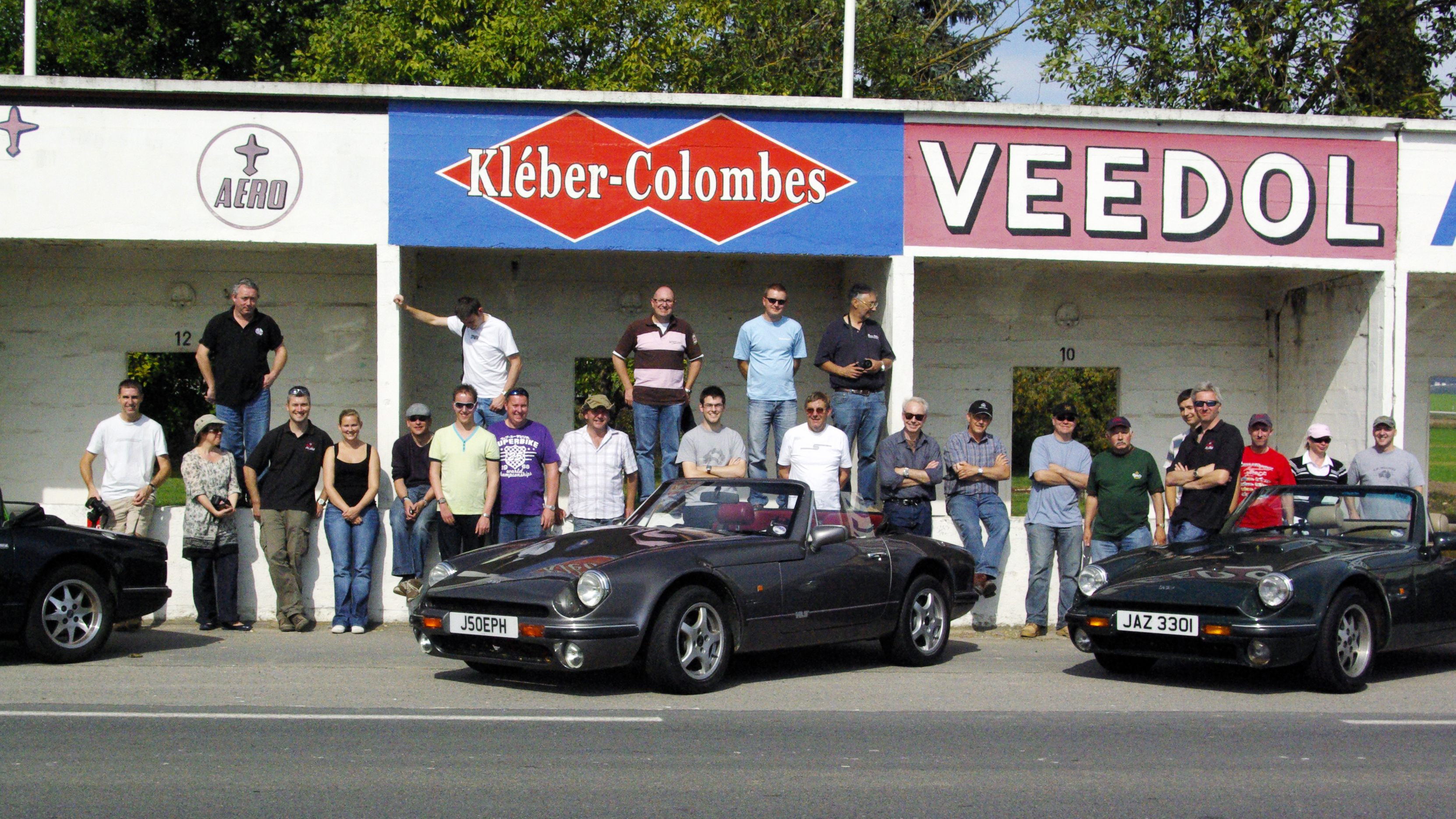TVR S Club Eurotour 4-9 July 2019