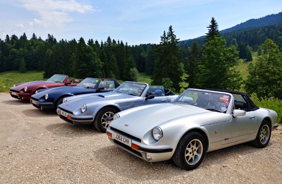 TVR S Club Eurotour TBC June 2021