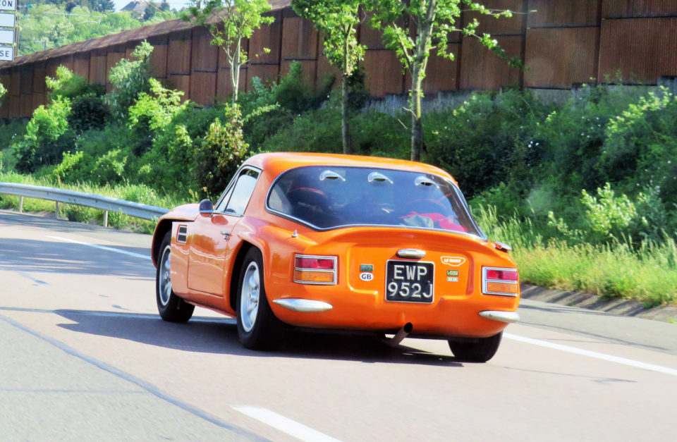 TVR Car Club Pre 80s Group Tour 12-14 July 2019